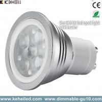 Buy cheap 5W high power gu10 led spot light with Lextar 3030 chips 70lm/w chip from Wholesalers