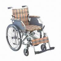 China Wheelchair with Aluminum Frame and Drop Back Handle factory