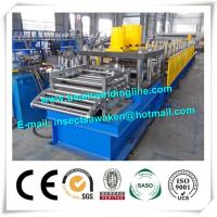China Automatic Column Steel Silo Forming Machine For Highway Guardrail factory