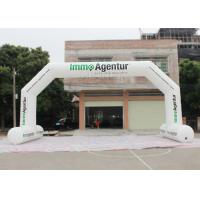 China Outdoor Event Entrance Arch  / Advertising Finish Line Blow Up Arch factory