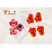 China Construction Drilling Ballistic Button Bits With Forging Processing Multi Functional factory