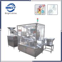 China VC Effervescent Tablet Tube Fillling and Caping  Packing Machine (BSP-40) factory