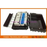 China 48 Cores Fusion Splice Fiber Optic Distribution Box 3 In 3 Out For Buffer Tube on sale