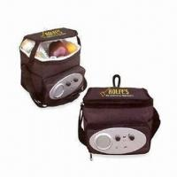 Buy cheap Cooler Bag with Radio,Customized Designs and Aluminum/PVC Insulation from wholesalers