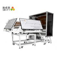 China Full Automatic Cable Tie Machine , Customized Plastic Tie Machine With A Robot factory