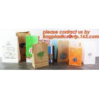 China Customize Translucent Window, Brown Greaseproof Kraft Paper Bag, Special Opp Window Bag, window bags, paper window bags factory