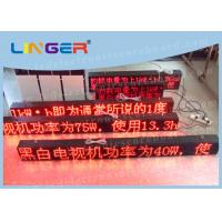 China P10 Led Sign Programmable , Electronic Scrolling Sign For Advertisement factory