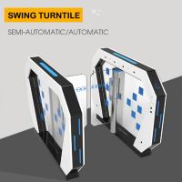 China Access Control Turnstile Barrier Gate Rfid Card Reader Security System 50W/24V factory