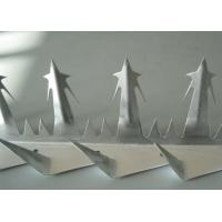 Buy cheap Galvanized Razor Wall Spikes Large Size 2mm Thickness 1250mm Length from Wholesalers