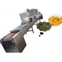 China Hot Sale Factory Price Multilayer Belt Type Industrial Tea Microwave Drying And Sterilization on sale