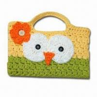 China Fashionable Hand Crochet Bag, Customized Designs are Welcome factory