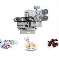 China 3Ph 380V Chocolate Bar Wrapping Machine , Double Twist Pillow Packing Machine factory