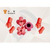 China RHC Steel Dth Hammer Button Bits , Geothermal Well Drilling Head High Performance factory