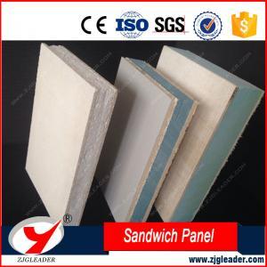 China EPS/XPS SIP DRY WALL FIREPROOF PERFORMANCE mgo sandwich panel on sale