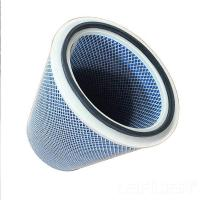 China High Quality Factory Price Coated Polyester Air Filter Cartridge Element factory
