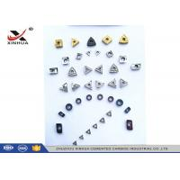 China Cermet Indexable Carbide Inserts Full Range For Finishing Machining Steel Material factory