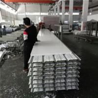China 10.35 meters 30mm PVC eps sandwich roof panels used for fast asemble warehouse factory