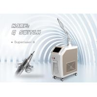 Buy cheap Stationary Q Switch Nd Yag Laser 1320nm , 1064nm Pigment Tattoo spts Removal from wholesalers