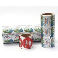 China Sauce Cup Lidding Foil Easy Pealing With Structure PET AL HSL factory