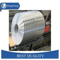 China Custom Aluminium Metal Strips 0.1mm Tape Rolls For Battery Soft Connection factory