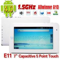 Buy cheap Android Tablet pc E11 with 1.5GHz high speed processor,Android 4.0 from wholesalers
