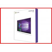 Quality Computer Operating System Win 10 Pro Pack 32 Bit / 64 Bit Retail Box wholesale