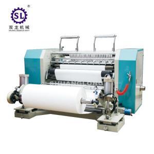China SLFQ PLC Conrol Automatic Slitting Machine for Paper and Plastic Film factory