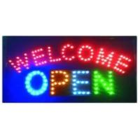 China LED sign LED WELCOME OPEN sign on sale