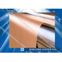Buy cheap High bendability Rolled Copper Shielding Foil Shielding for CCL , FCCL , PCB from Wholesalers