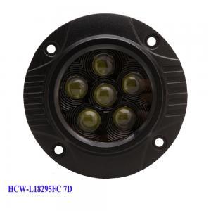 China 3x3 Round super bright 18W led vehicle work light HCW-L18295FC 7D factory