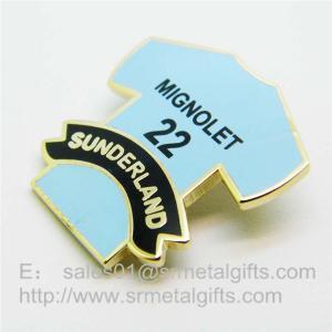 China Imitation Cloisonne T-shirt Lapel Pins, Cloisonne Soft Enamel Pins Wholesale, on sale