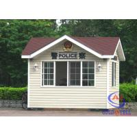 Buy cheap Insulation Outdoor Kiosk Security Guard Booths Easy Assembly , Custom Size from Wholesalers