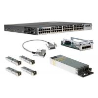 Buy cheap Cisco Gigabit Ethernet 48 Port PoE IP Base Internet Switch WS-C3750X-48P-S from Wholesalers