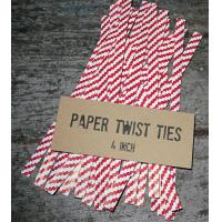 Buy cheap paper twist ties/bag closures/clips from Wholesalers