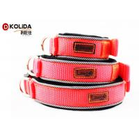 Buy cheap Velcro Justable Puppy Collar Comfortable Reflective Diving Material Eco - Friendly from Wholesalers