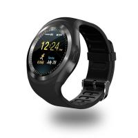 Y1 Round Bluetooth Wearable Passometer Smart watch Sleep Tracker Business Smartwatch for Android