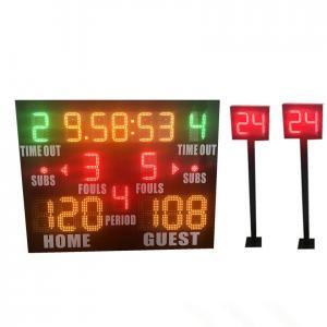 China Small Model Standard LED Basketball Scoreboard Plus Shot Clock Long Life factory