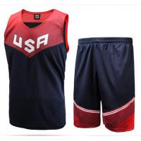 China Customization Ventilate Basketball Jersey for Basketball Player Training factory