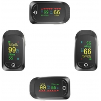 China Pulse Measure Portable Spo2 Oxygen And Heart Rate Finger Monitor factory