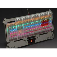 Multimedia Wired Rainbow Backlit Gaming Keyboard Custom Mechanical Keyboard