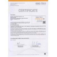 Shenzhen Tunsing Plastic Products Co., Ltd. Certifications