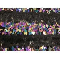 Buy cheap Bead Beaded Flower Mesh Colorful Sequin Fabric Embroidery Lace Fabric from wholesalers