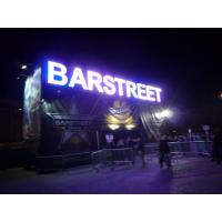 Buy cheap Super Colorful Effect Front Sign Letters For Amusement Park , Club , Bar from Wholesalers