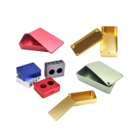 Buy cheap Aluminum 6061-T6 CNC Machined Parts Shell 0.005mm Tolerance from wholesalers
