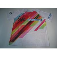 Buy cheap Sublimation Custom Printed Sport T Shirts Running T Shirt Quick Dry from Wholesalers