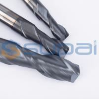 China 2 Flutes Solid Carbide Tungsten CNC Milling Cutter  End Mill Cutters for CNC Milling Machine factory