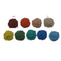 China UV Resistant Coloured Rubber Crumb / Sound Insulation EPDM Granules Flooring factory