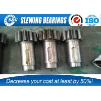 Buy cheap Industrial Forging Pinion Spur Gear Shaft For Wind Power Industry from Wholesalers
