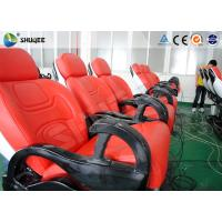 China 6 Dof Mobile Theater Chair , 4d Cinema Custom Motion Control System factory