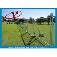 Buy cheap Playground Temporary Chain Link Fence Panels Various Size / Color Acceptable from Wholesalers